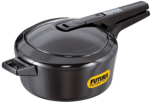 Futura by Hawkins Hard Anodized 4.0 Litre Pressure Cooker from Hawkins
