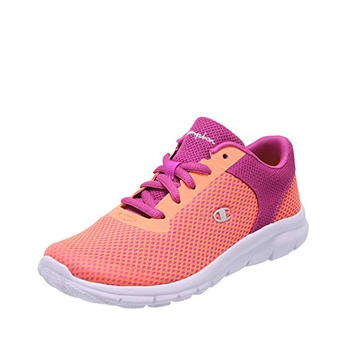 Champion Coral Berry Girls' Performance Gusto Cross Trainer 5 Regular (Trainers Childrens Girls)