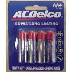 AC Delco - AAA 4 pack Heavy Duty Batteries
