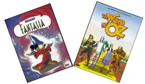 {2 Dvd Gift Set} The Wizard of Oz ~ Judy Garland / Walt Disney's Fantasia [Import][All-region]