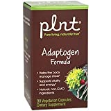 plnt Adaptogen Formula Made with Natural, NonGMO Ingredients to Help The Body Manage Stress Support Vitality Energy (90 Vegetarian Capsules) Review