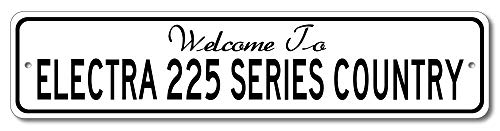 Buick Electra 225 Series - Welcome to Car Country Sign - Aluminum 4
