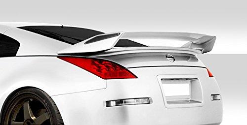 Duraflex ED-BXS-840 N-2 Rear Wing Trunk Lid Spoiler - 1 Piece Body Kit - Compatible For Nissan 350Z 2003-2008