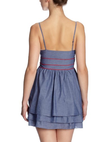 Quiksilver Sunnie Mini-robe Bleu Chambray indigo l