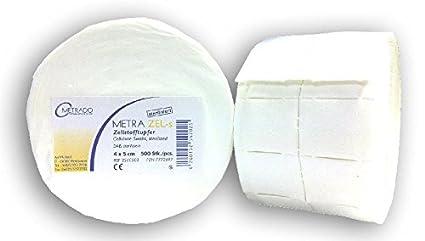 Metra zel-s celulosa toallitas estériles, rollo de 500