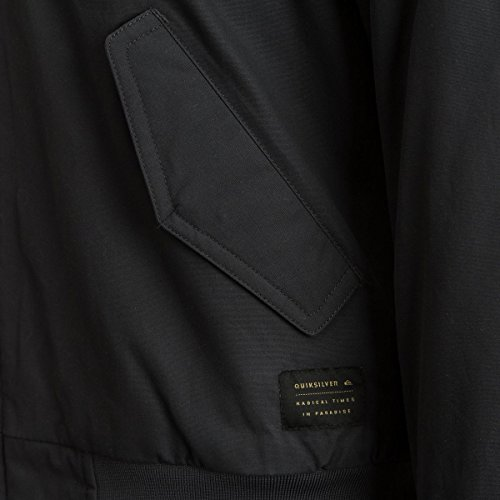 Quiksilver Men's Ogoki Bomber Winter Jacket, Tarmac, XL by Quiksilver (Image #2)