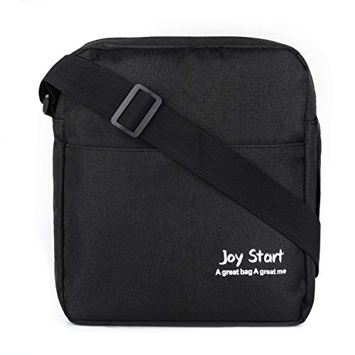 Victoriatourist Vertical Messenger Bag for iPad-Mini and Tablets Upto 8.1-Inch (8023Black)