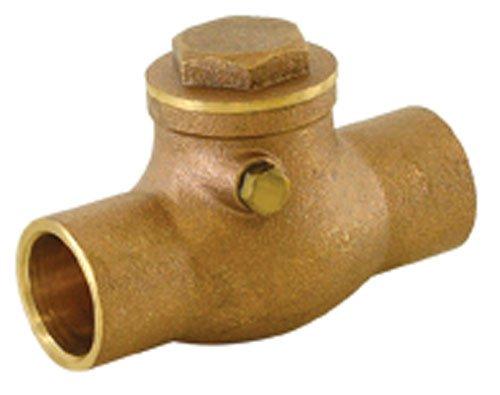 - EZ-FLO 20443LF swing check valve, 3/4