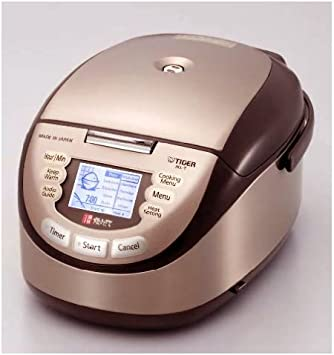 clay ceramic pot ih rice cooker tiger jkl-t10w (Cook 1.1CUP/1.1 合) TIGER [overseas] IH 1 surface-coat