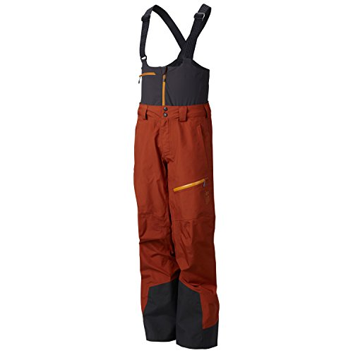3l Ski (Mountain Hardwear Compulsion 3L Ski Pants Dark Adobe Mens Sz)