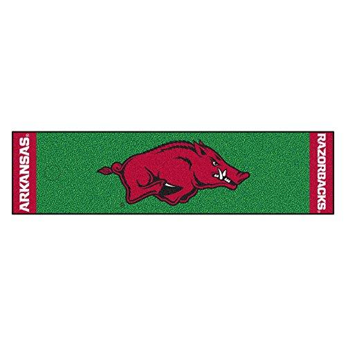 NCAA University of Arkansas Razorbacks Putting Green Mat Golf Accessory by Unknown (Image #1)