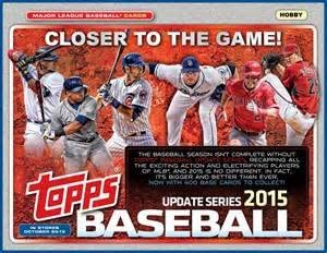 2015 Topps Baseball Update Series Complete Set 400 Cards