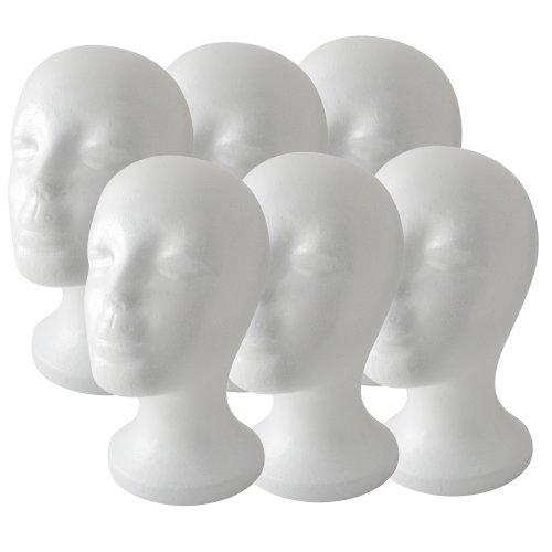 foam bald mannequin head - 3