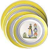 Quimper Henriot 11'' Plate Woman