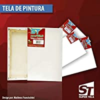 Tela de Pintura 25x40 - Pacote com 20