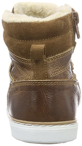 BULLBOXER AGM503E6L Mädchen Hohe Sneaker Mehrfarbig (COGN)