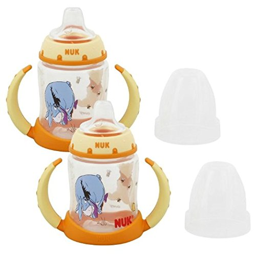 NUK Disney Winnie the Pooh 5 Ounces Learner Cup Silicone Spo