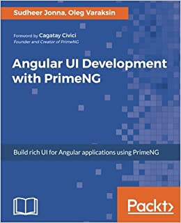 Buy Angular UI Development with PrimeNG Book Online at Low