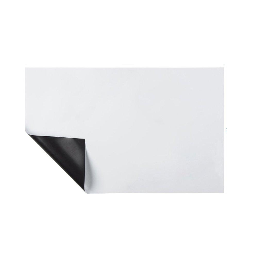Hemore Calendario magnetico cancellabile a secco per frigorifero con tecnologia antimacchia Mensola bianca per lavagna a muro organizzatore Frigorifero Bacheche multifunzione