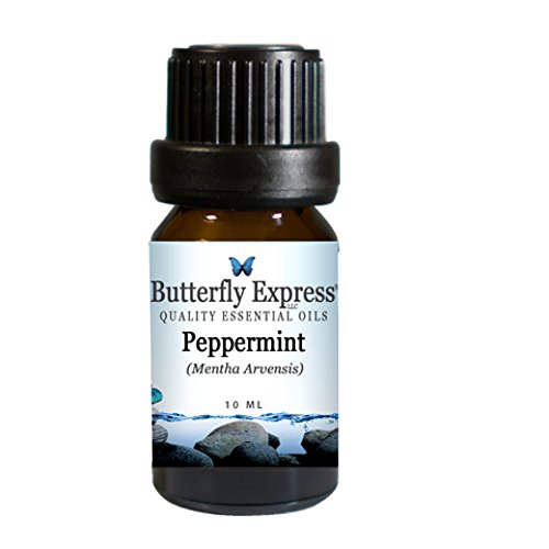 Butterfly Express Pure Essential Oils-Peppermint 10ml by Butterfly Express