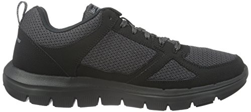Skechers Hombre bbk 0 Advantage 2 Zapatillas Negro Flex xXrPxw4