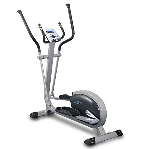 Sunny Health & Fitness Asuna 4300 Elliptical Trainer, Gray