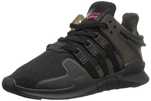 Adidas Originals Boys Eqt Support Adv J Sneaker  Black Black White  6 5 M Us Big Kid