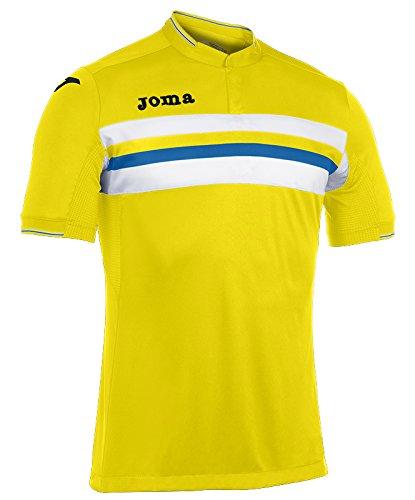 Joma - Camiseta Liga Amarillo m/c para Hombre: Amazon.es: Deportes ...
