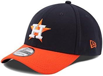 New Era MLB Houston Astros Junior Team Classic Road 39Thirty Stretch Fit Cap 127b75332a6d