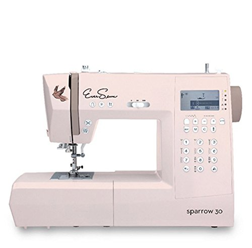 Eversewn - Sparrow 30 -310 Stitch Computerized Sewing Machine Plus Eversewn Bobbins & 6 piece Accessory Foot Kit