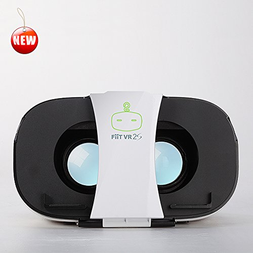 Fiit VR 2S 3D Virtual Reality Headset for iOS & Android Smart Phones from 4.5 to 6.5 inches