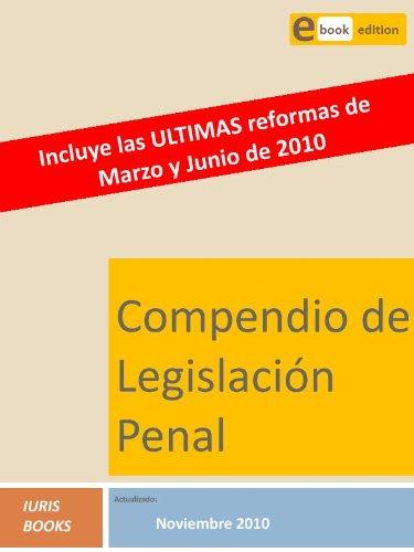 Descargar Libro Compendio De Legislación Penal Iuris Books