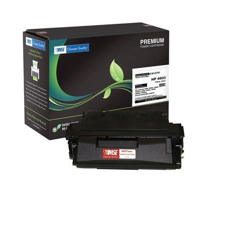 MSE C4127X Toner for HEWLETT PACKARD (Troy Compatible) LaserJet 4000, 4050 Series, 10,000 Page Yield (Yield 10000 Series Page)