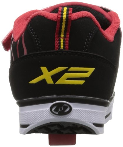 Mixte Black Basses 770076 Red Heelys Sneakers Speed Red Black enfant wzqYHIZ