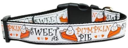 Mirage Pet Products Pumpkin Pie Nylon Dog Collar, Medium from Mirage Pet Products