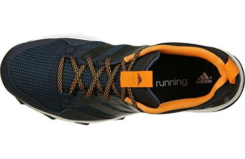adidas Kanadia 7 Tr M, Zapatillas de Running para Hombre Negro / Naranja (Maosno / Negbas / Eqtnar)