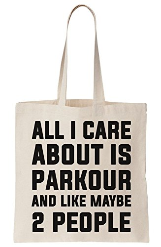 Is Bag Maybe People Canvas About Care I 2 All Parkour Tote And Like 7q0txFH