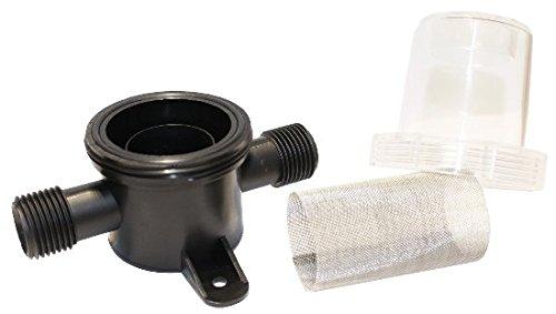 Bomba de agua Dep/ósito de agua Filtro fino de agua para manguera de 13 mm Bomba de agua a presi/ón