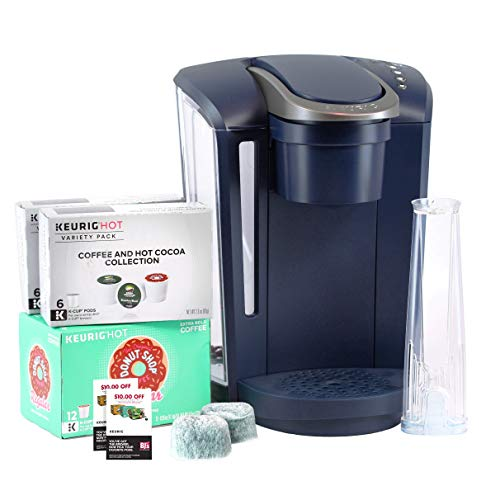 Keurig K-Select B Single Serve Coffee Maker with 24 K-Cups, 2 Water Filter Cartridges & $20 Coupon - Navy