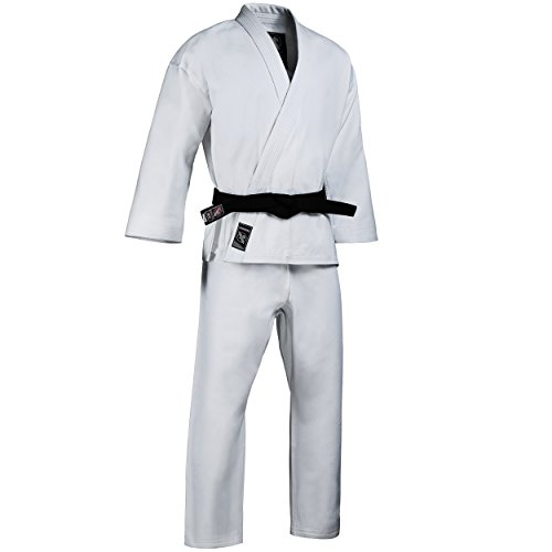 Hayabusa Cotton Karate Gi Uniform (White, 2)