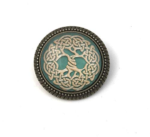 Celtic Tree of Life Pin - Handmade Brooch