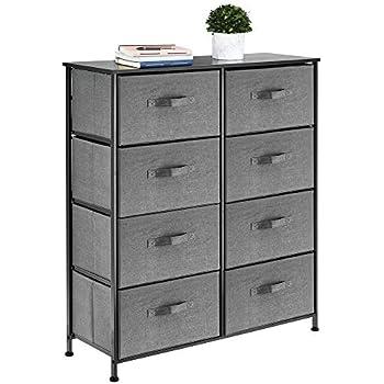 Amazon.com: mDesign Vertical Dresser Storage Tower - Sturdy ...