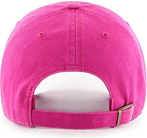 47 Brand Womens Clean Up Adjustable Cap Relaxed Fit Low Profile Hat Adjustable MLB Ladies