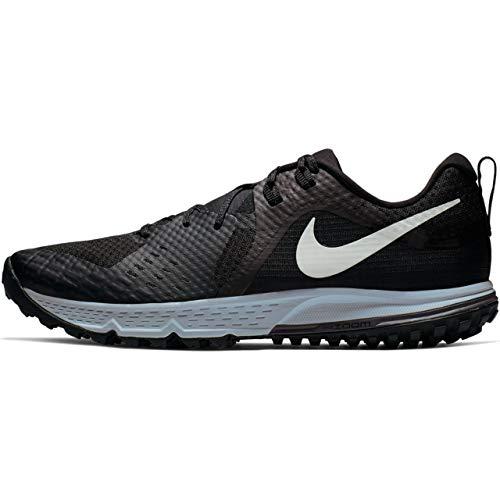 Nike Men's Air Zoom Wildhorse 5 Trail Running Shoes (9.5, Black/Grey)