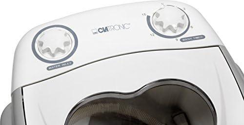 Clatronic 271693 Mini lavadora, 1,5 kg, ideal para camping, 135 W ...