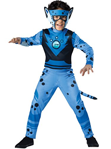 Wild Kratts Cheetah - Blue Costume,