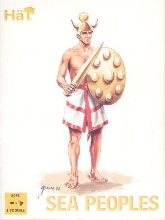 HaT 8078 Sea Peoples 1:72 Plastic Figures by HaT Industrie