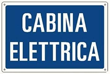 CARTEL ANUNCIO CABINA MEDIDAS SEÑALIZACIÓN ELÉCTRICA 300 X ...