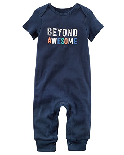 Carter's Baby Boys' Beyond Awesome Jumpsuit, 18 Months