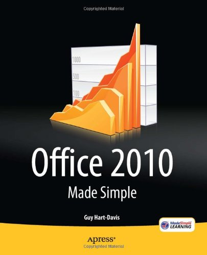 [PDF] Office 2010 Made Simple Free Download | Publisher : Apress | Category : Computers & Internet | ISBN 10 : 1430235756 | ISBN 13 : 9781430235750